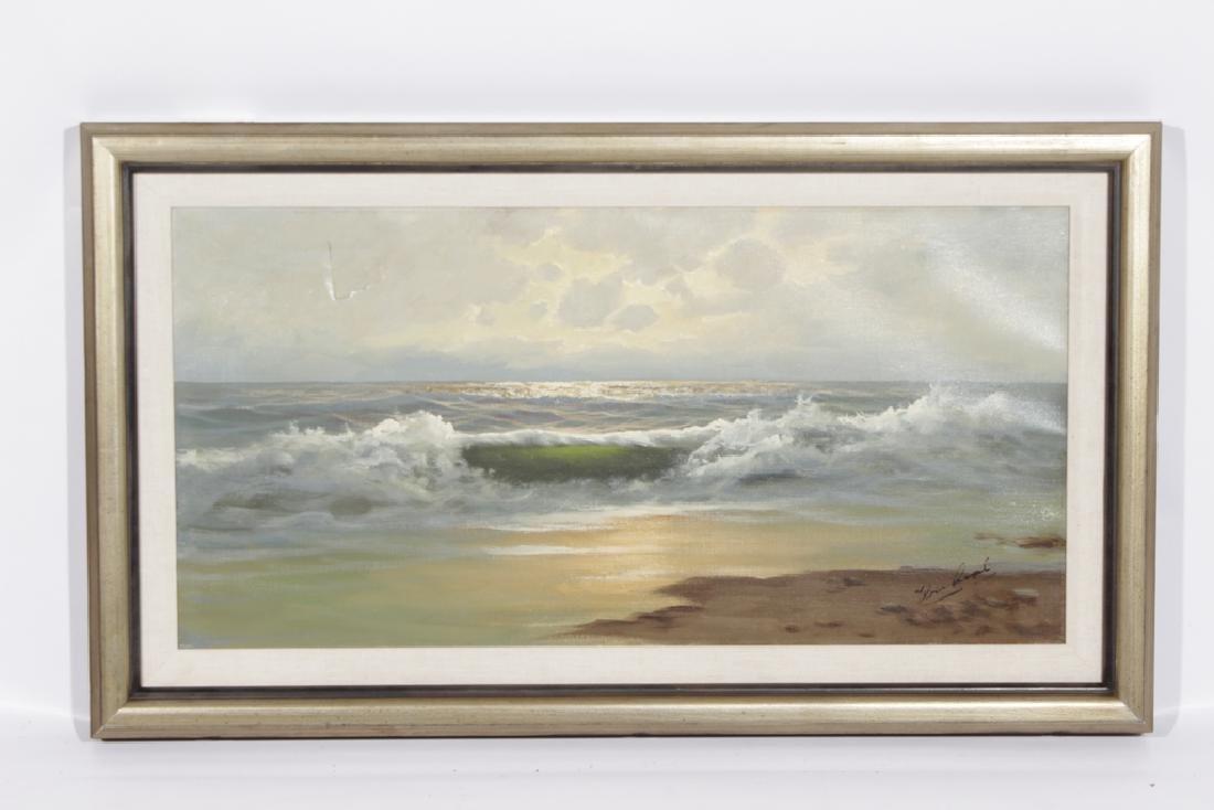 Decorator Seascape, Oil on Canvas