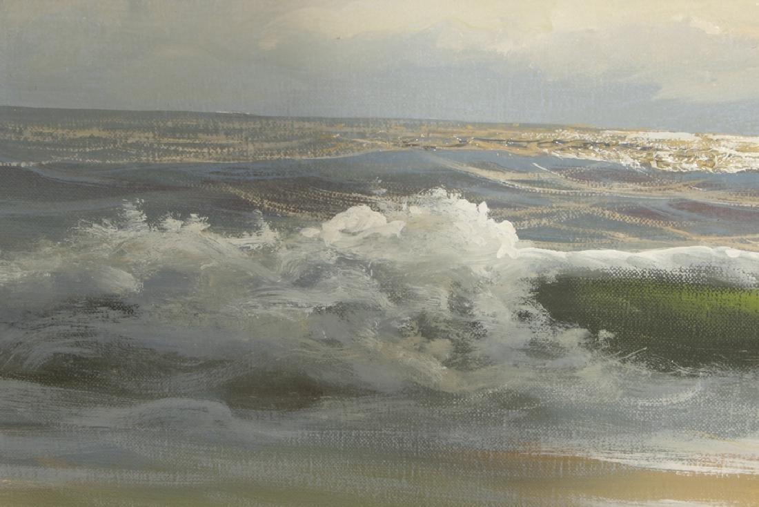 Decorator Seascape, Oil on Canvas - 2