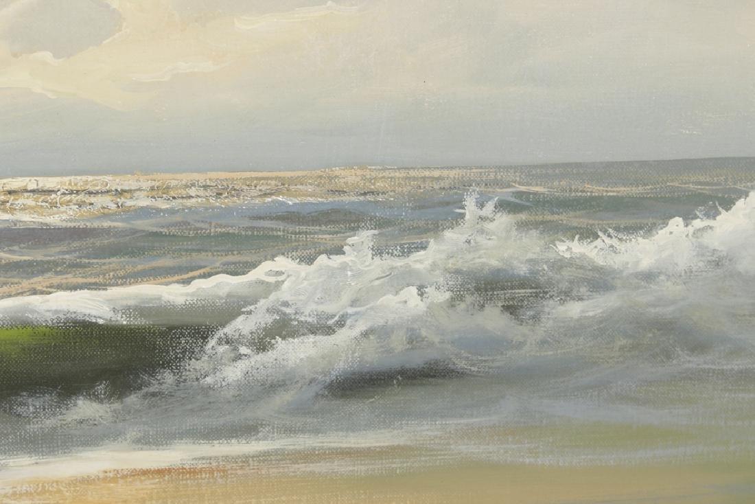 Decorator Seascape, Oil on Canvas - 3