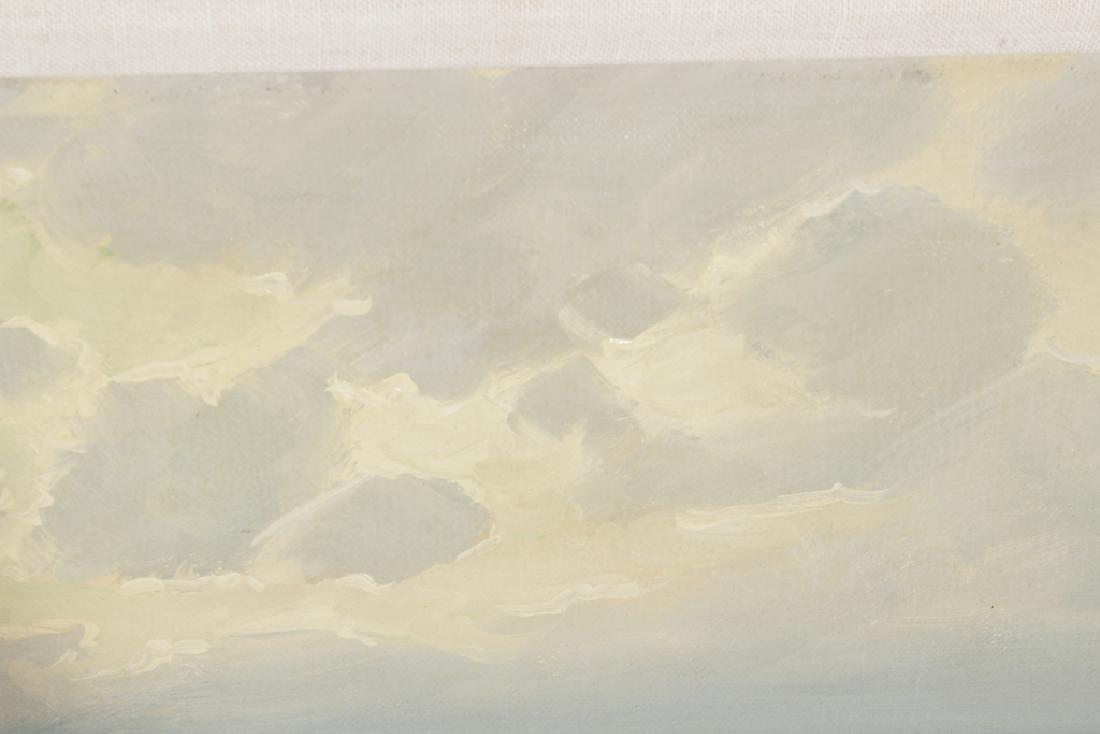 Decorator Seascape, Oil on Canvas - 5