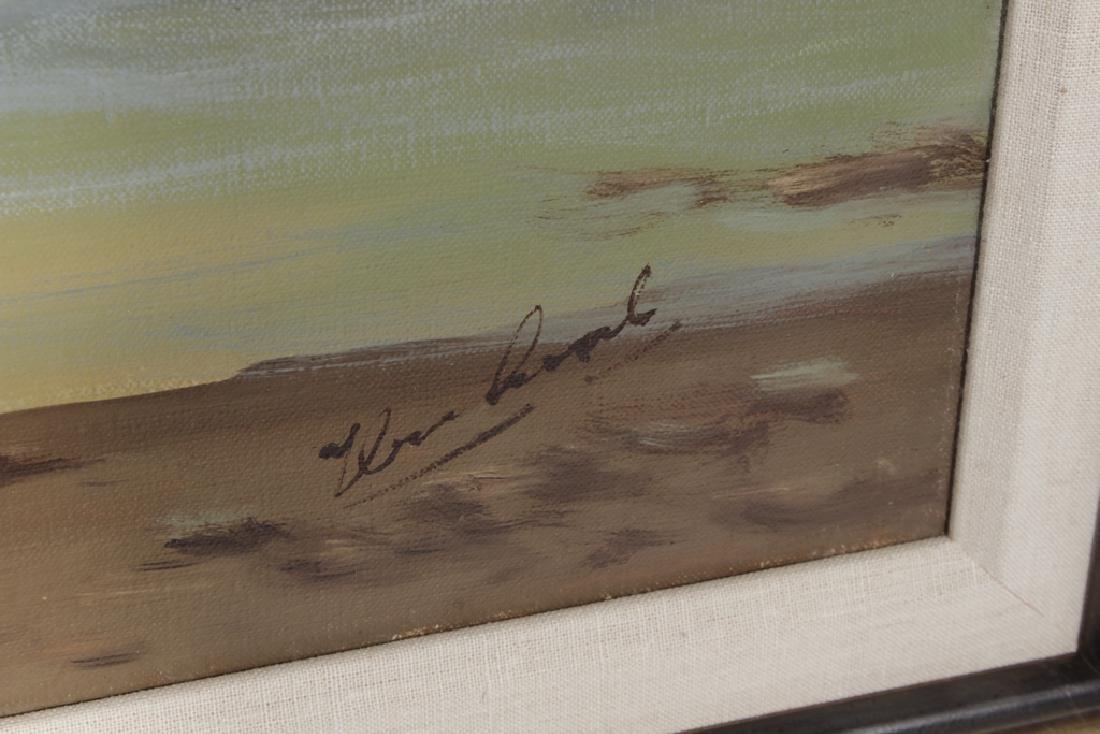 Decorator Seascape, Oil on Canvas - 6