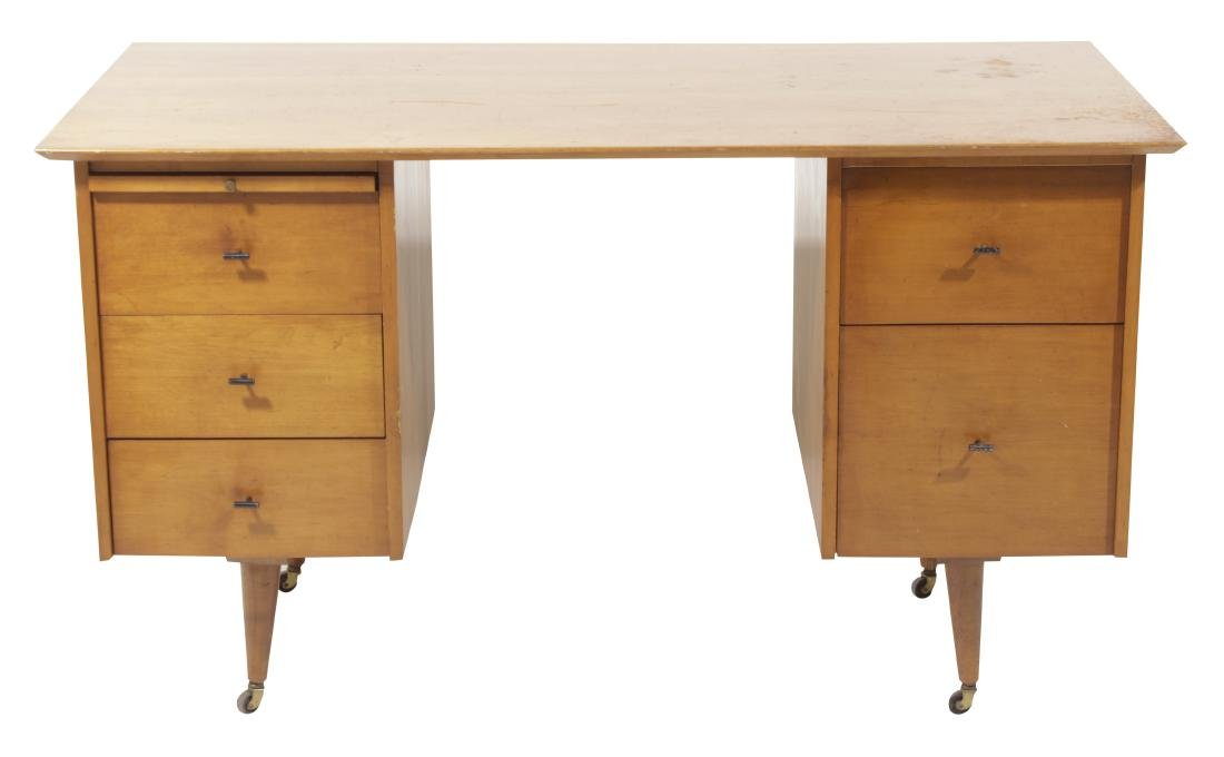 PAUL MCCOBB Mid Century Planner Desk for Winchedon
