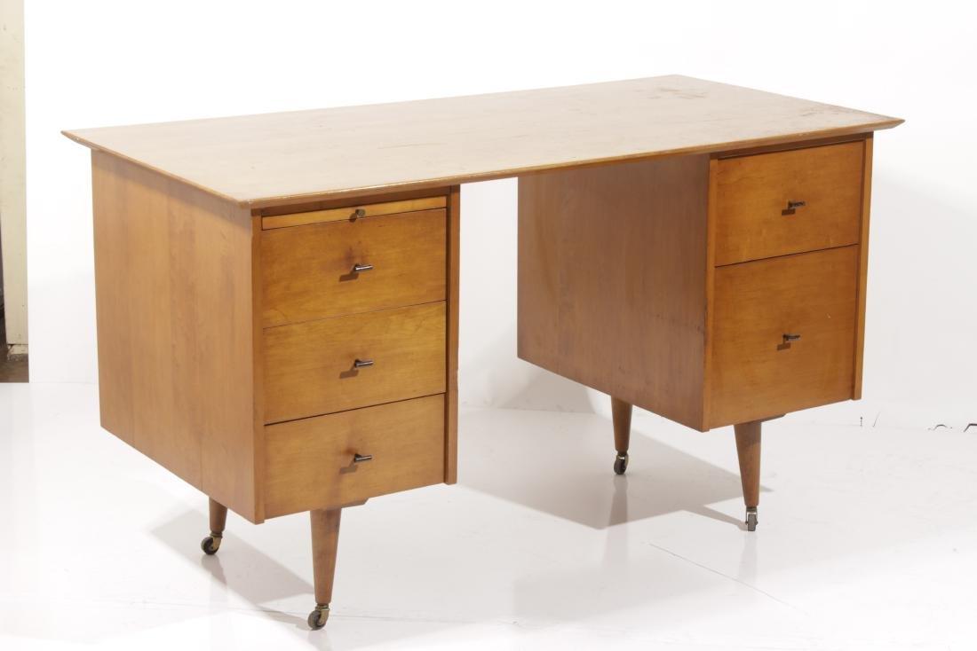 PAUL MCCOBB Mid Century Planner Desk for Winchedon - 2