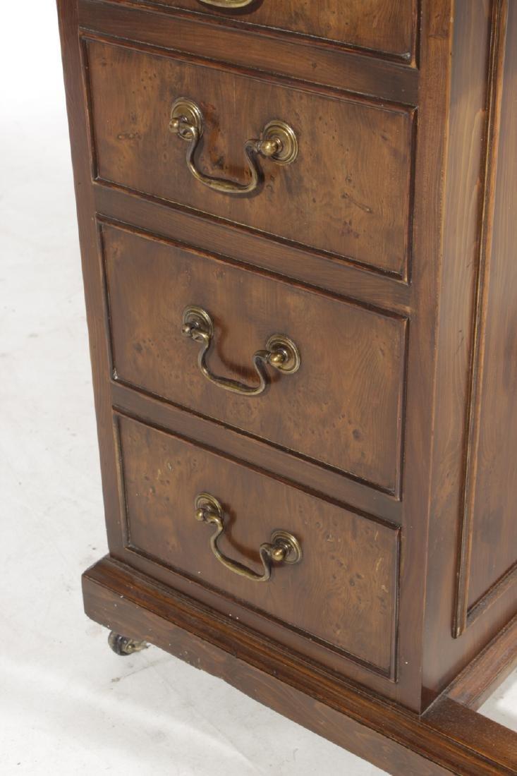Victorian-Style Mahogany Davenport - 4