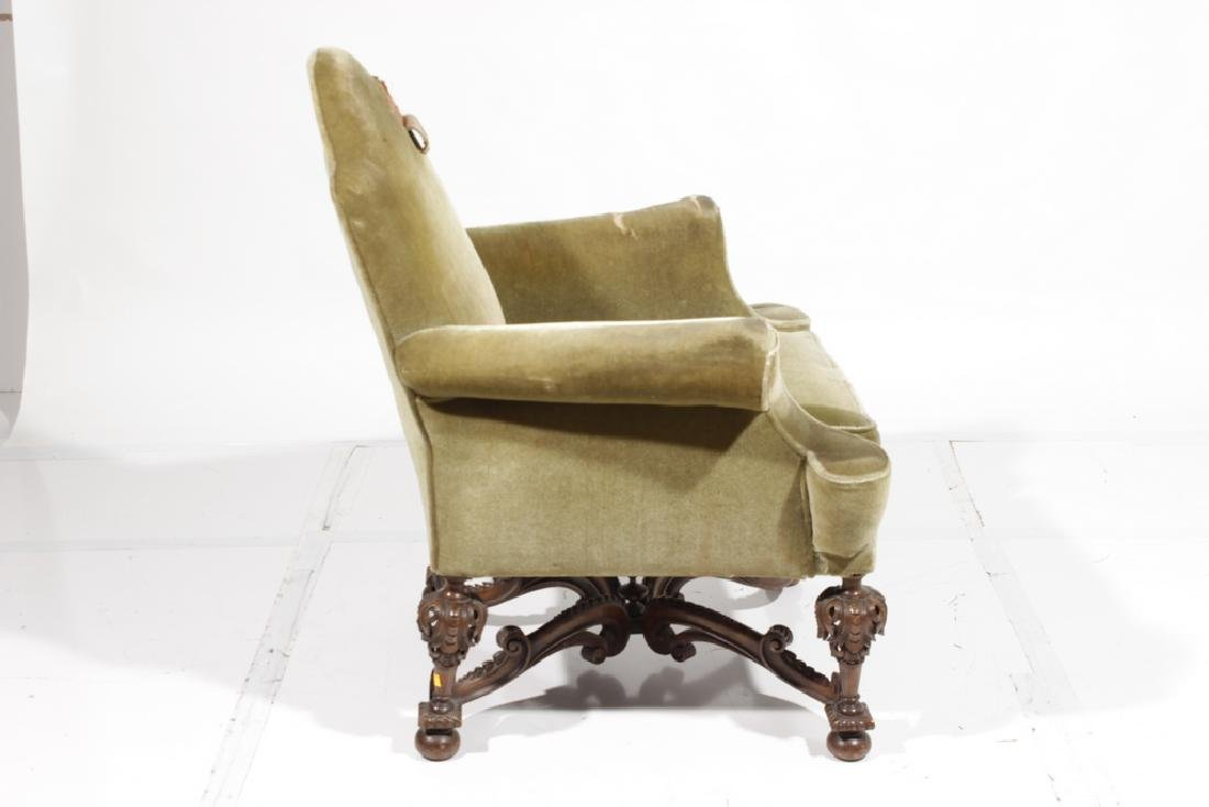 William & Mary Style Armchair - 4