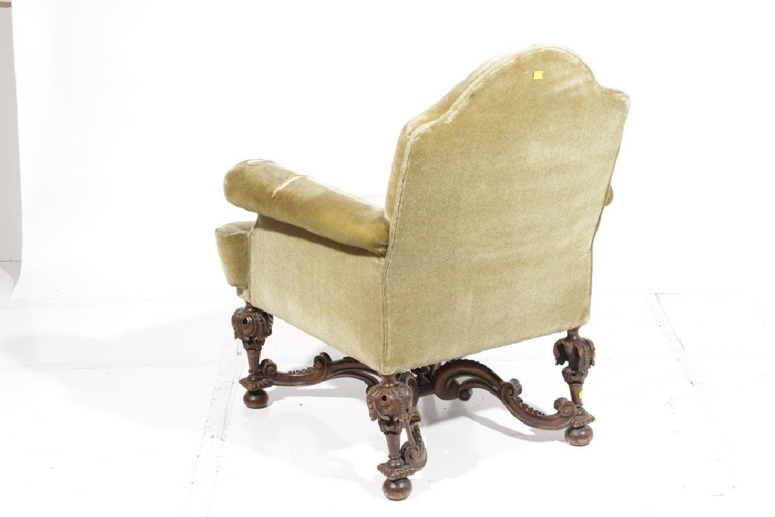William & Mary Style Armchair - 5