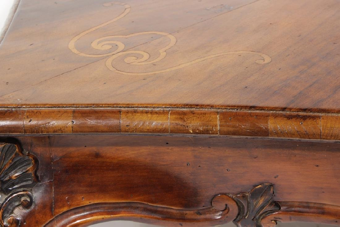 Pair Louis XV Style Coffee Tables - 2