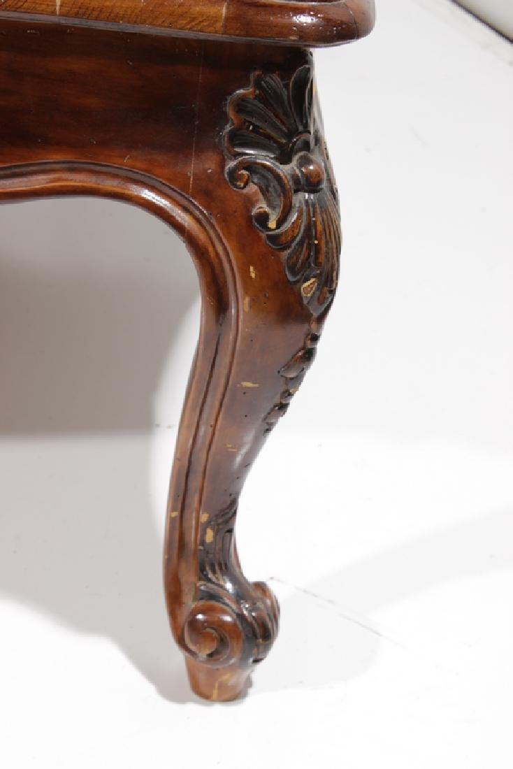 Pair Louis XV Style Coffee Tables - 4