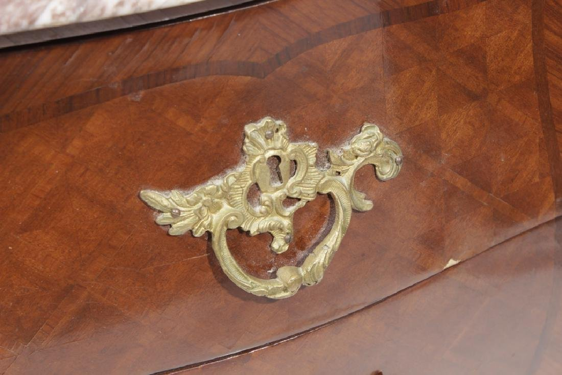 Pair Louis XV Style Diminutive Commodes - 2