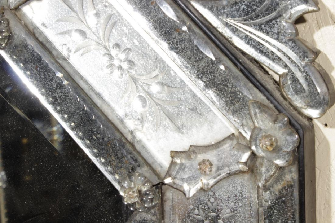 Pair of Venetian Style Mirrors - 2