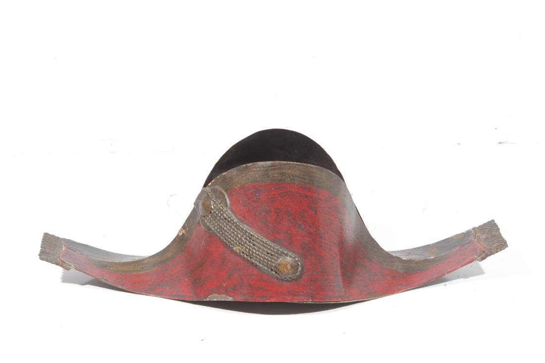 19th-Century French Napoleonic Style Tole Hat