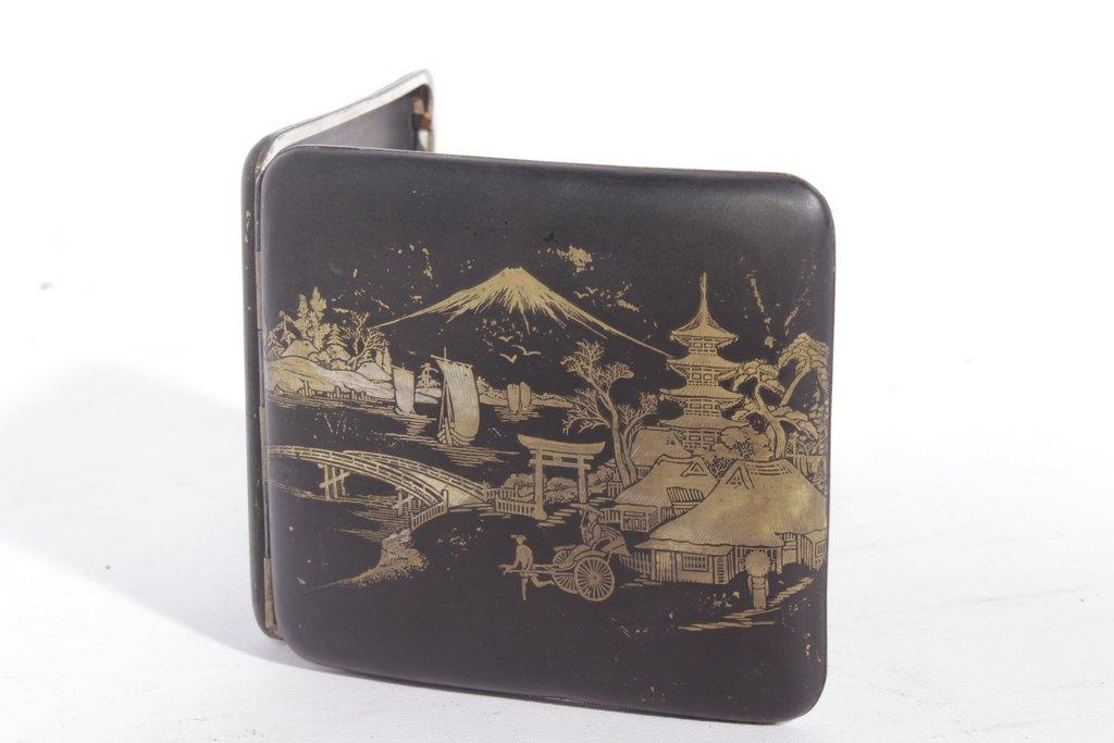 Japanese Komai Cigarette Case