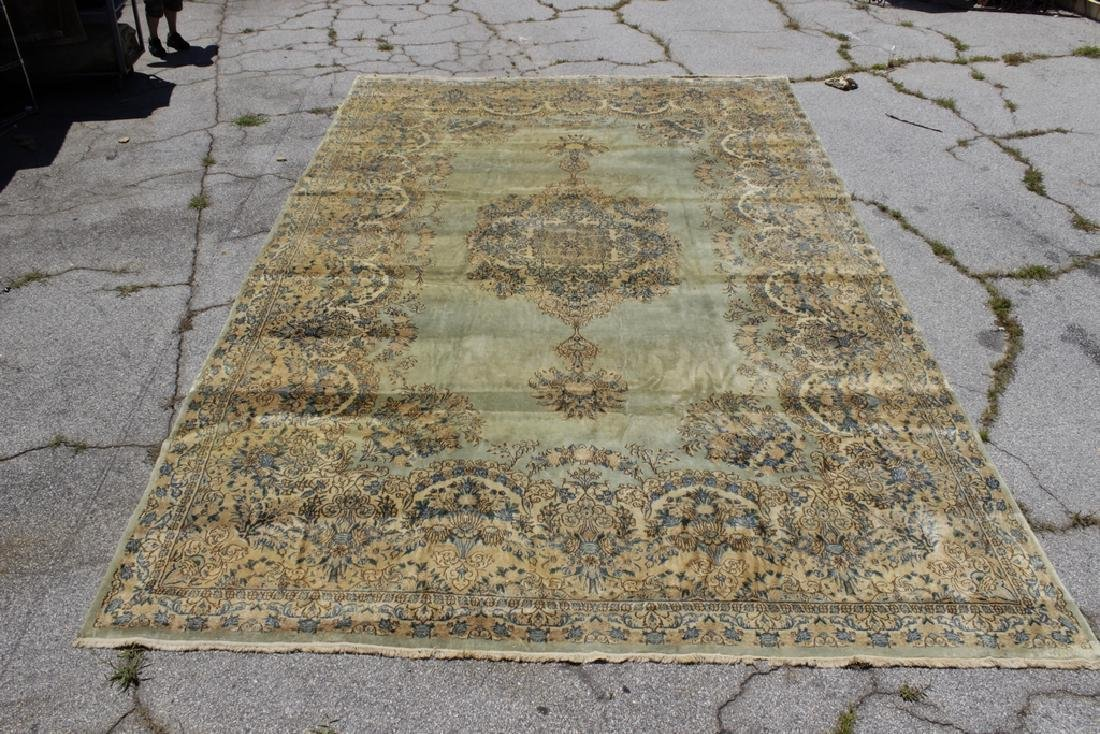 Handknotted Kerman Carpet