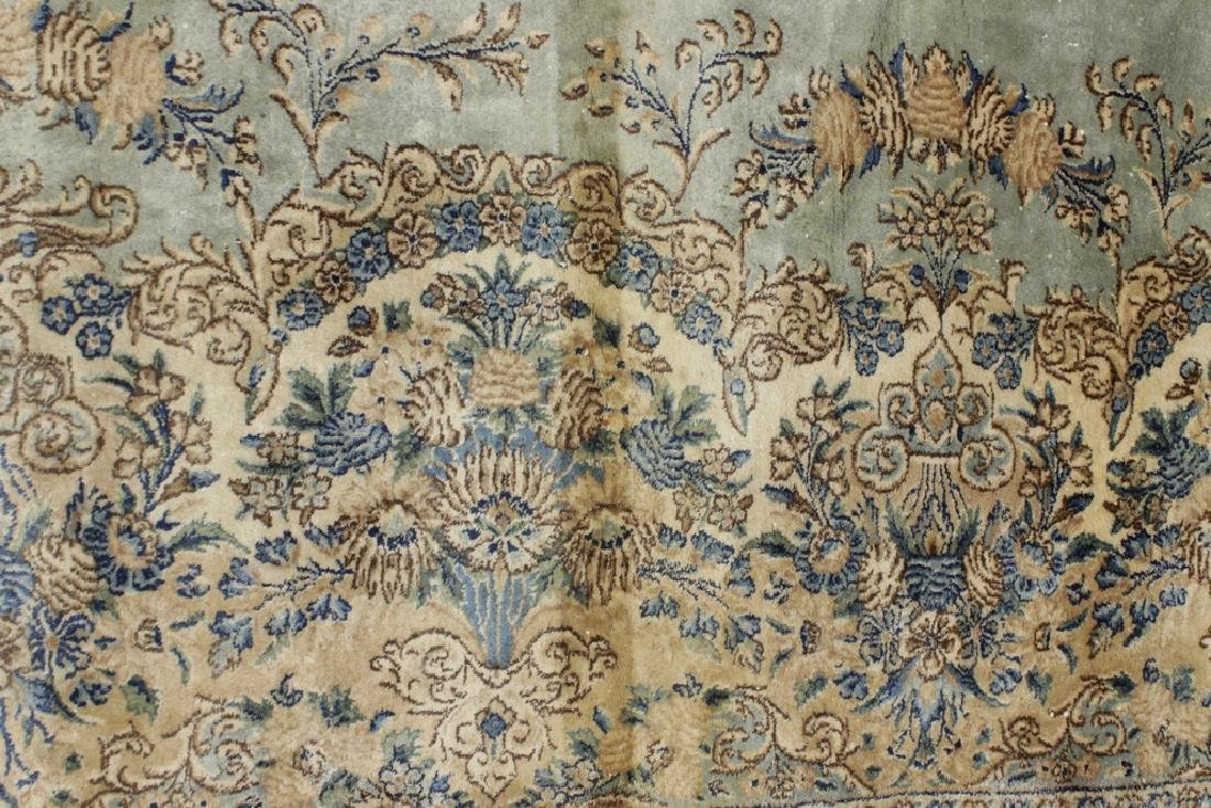 Handknotted Kerman Carpet - 2