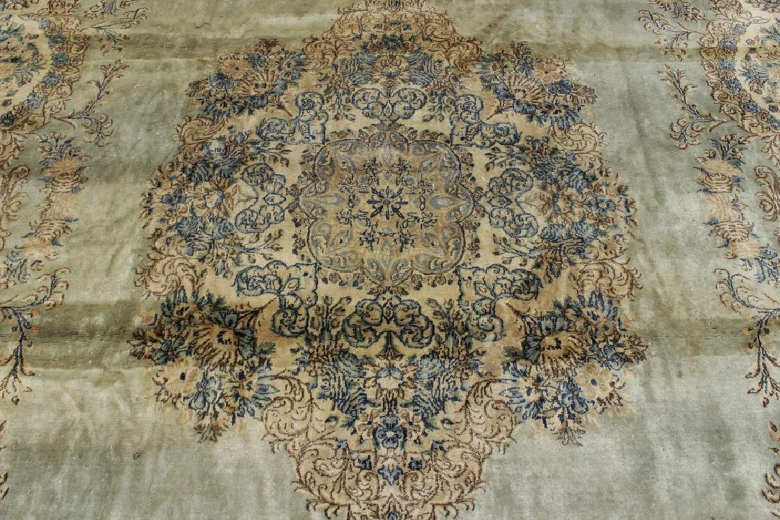 Handknotted Kerman Carpet - 6