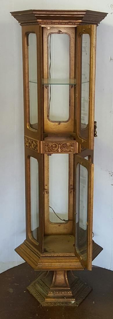 Octagonal Display Cabinet - 7