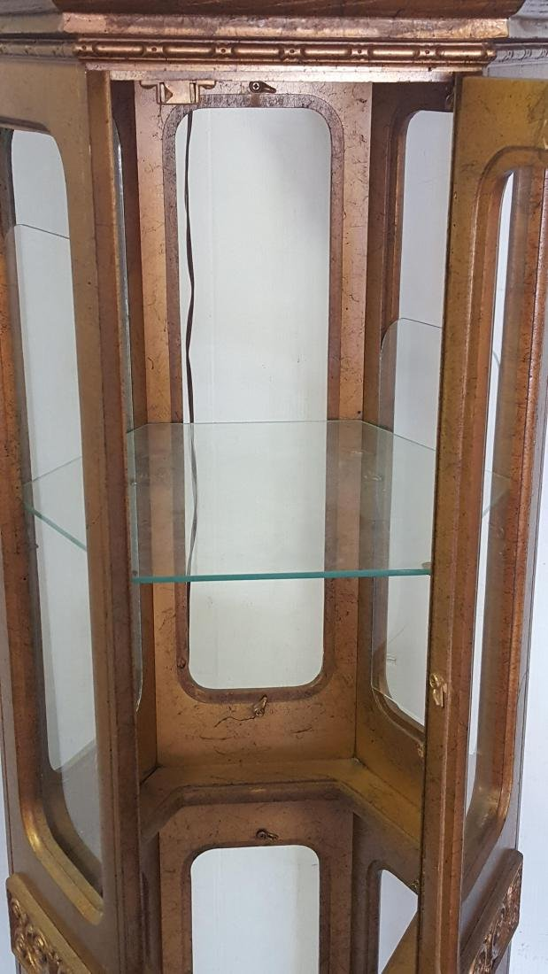 Octagonal Display Cabinet - 8