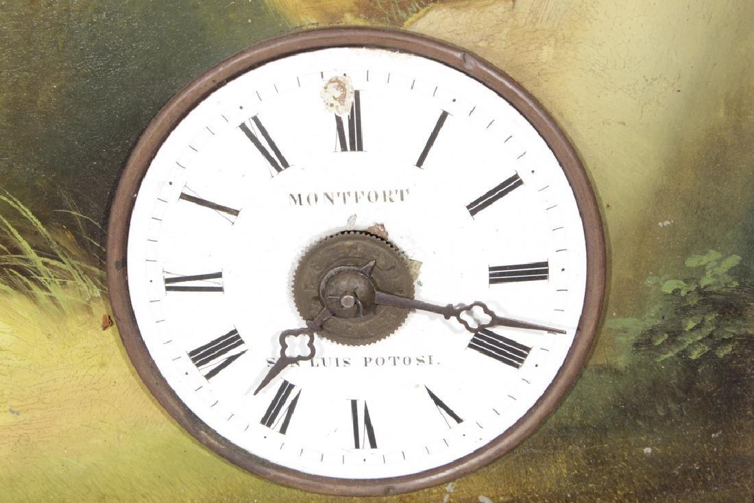 """19th c """"Rahmenuhr"""" Clock - 2"""