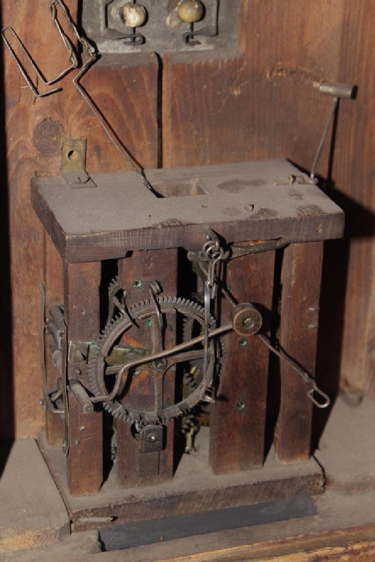 """19th c """"Rahmenuhr"""" Clock - 4"""
