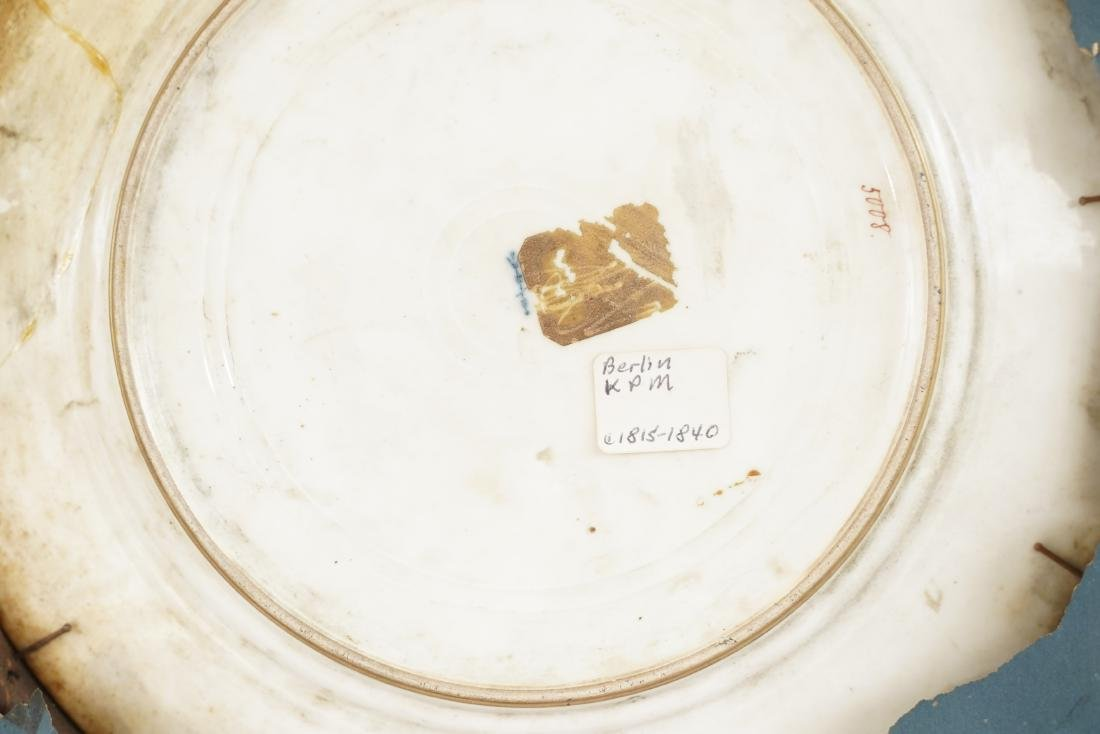 19th Vienna Porcelain Cabinet Plate - 5