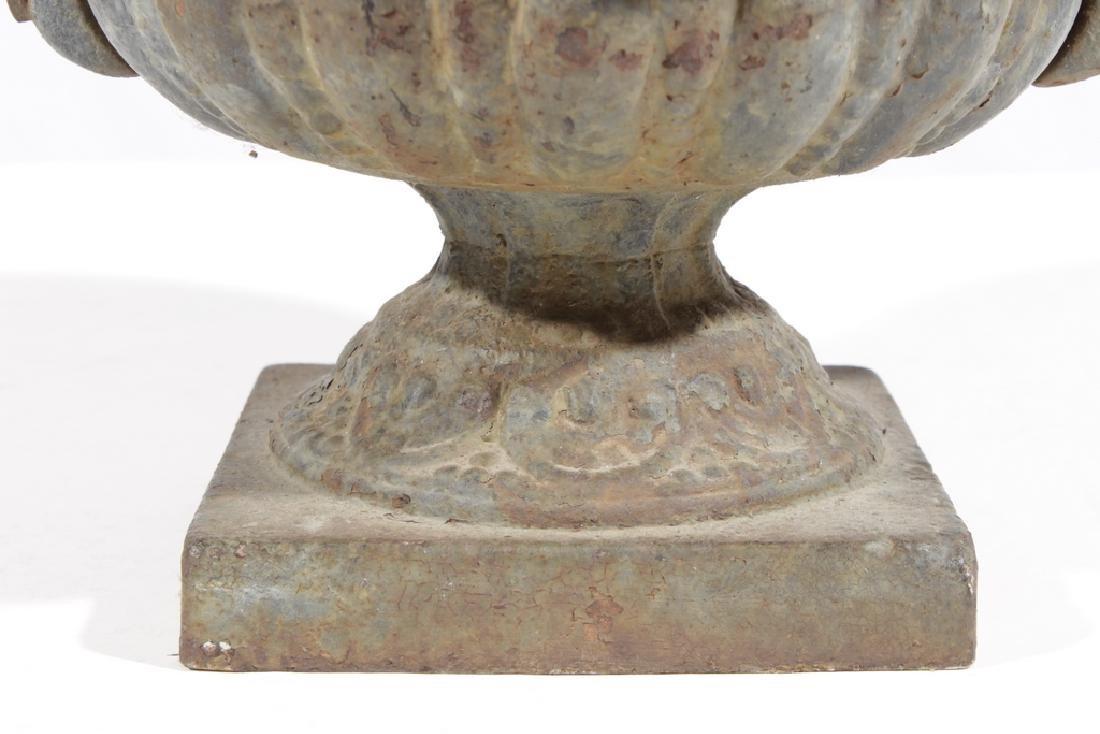 Vintage Cast Iron Urn - 4