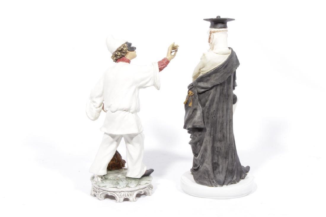 Lot of Two Capodimonte Figures - 4