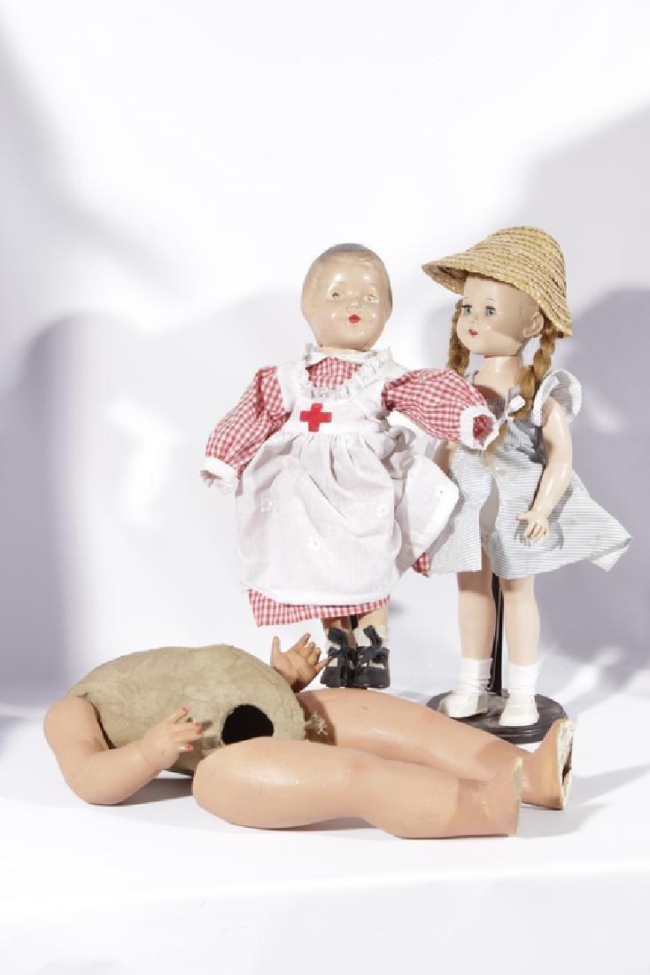 Lot of Three (3) Dolls