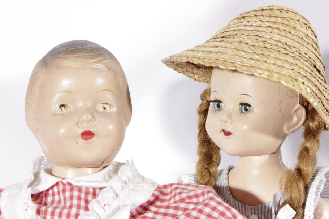 Lot of Three (3) Dolls - 6