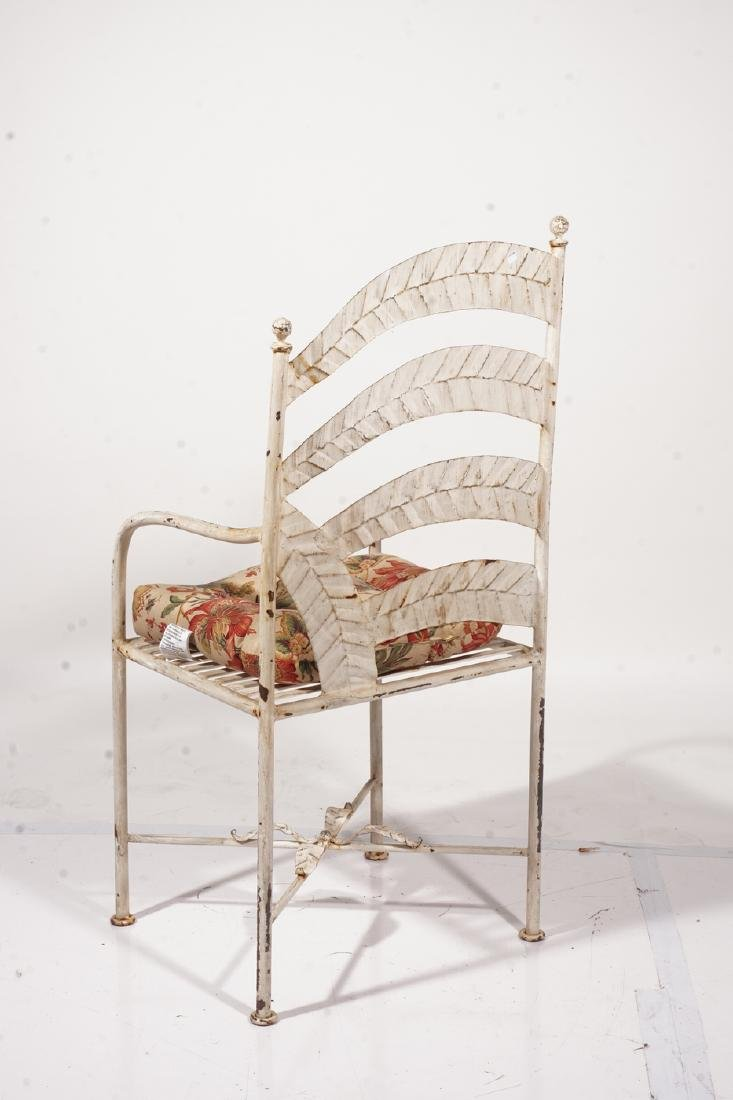 Metal Garden Chair - 5