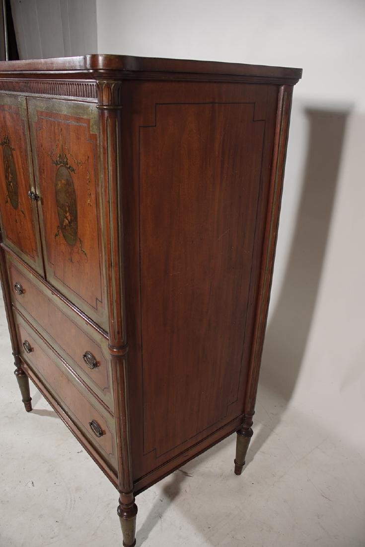 Louis XVI Style Painted Cabinet - 3