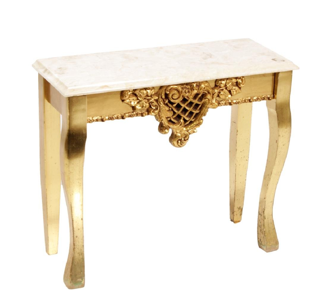 Giltwood Low Table