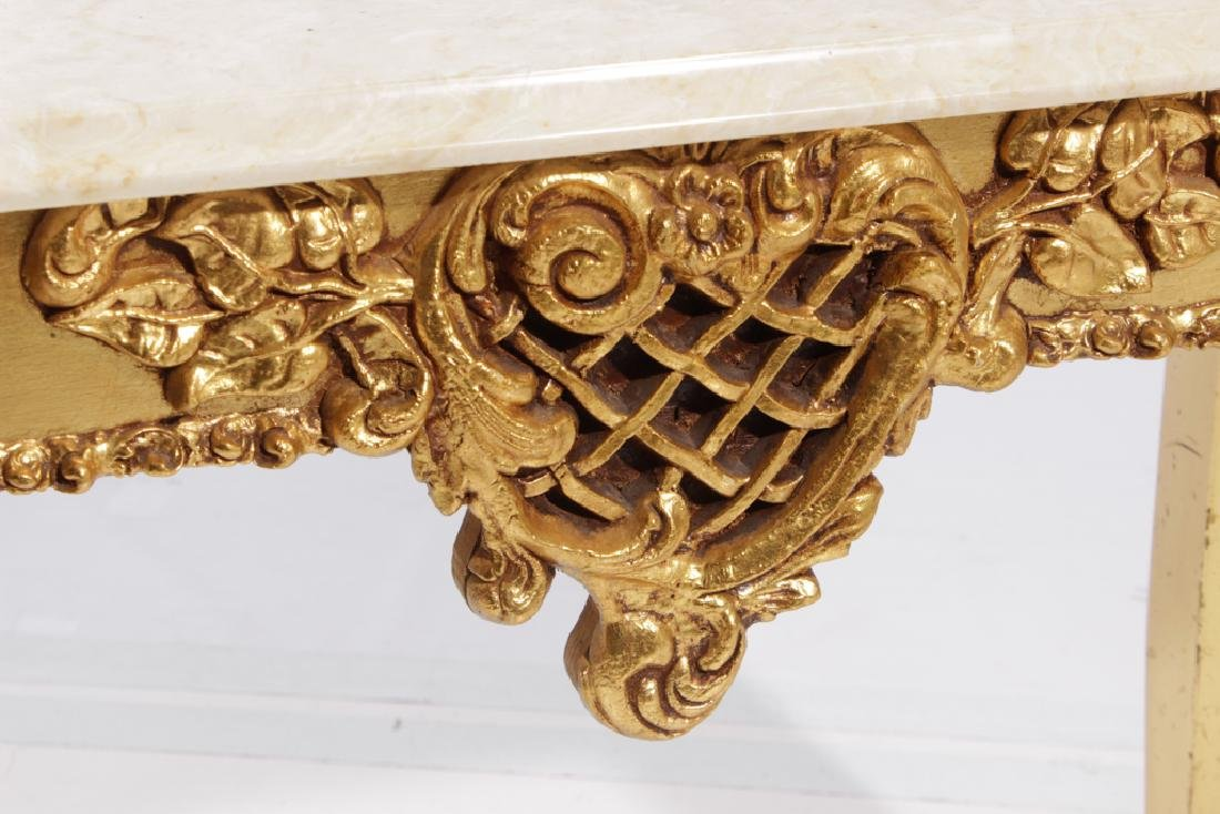 Giltwood Low Table - 3