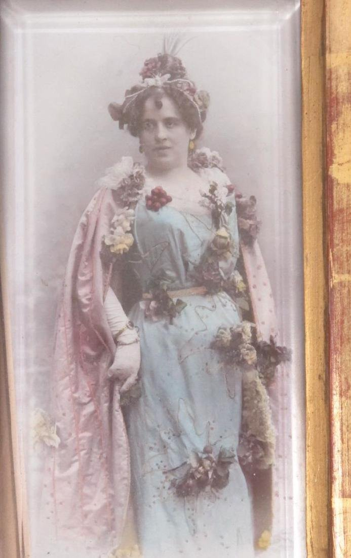 Framed Hand Colorized Antique Photograph - 2