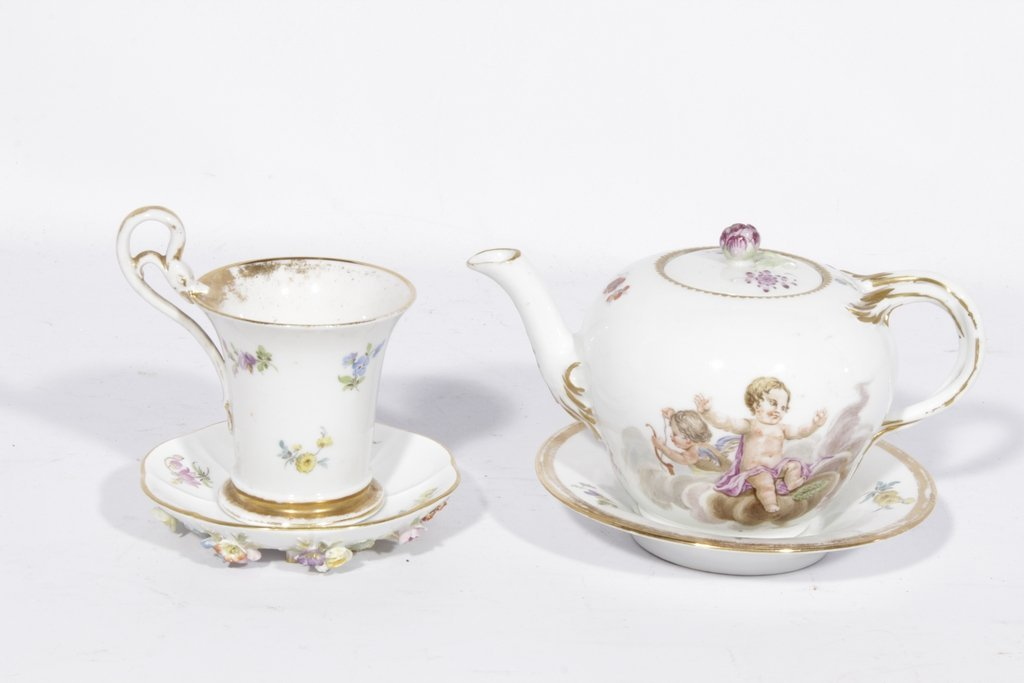 Two Pieces of MEISSEN Porcelain
