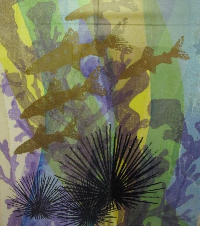 Tillett, Jim (American) Silkscreen Fish Swimming - 6
