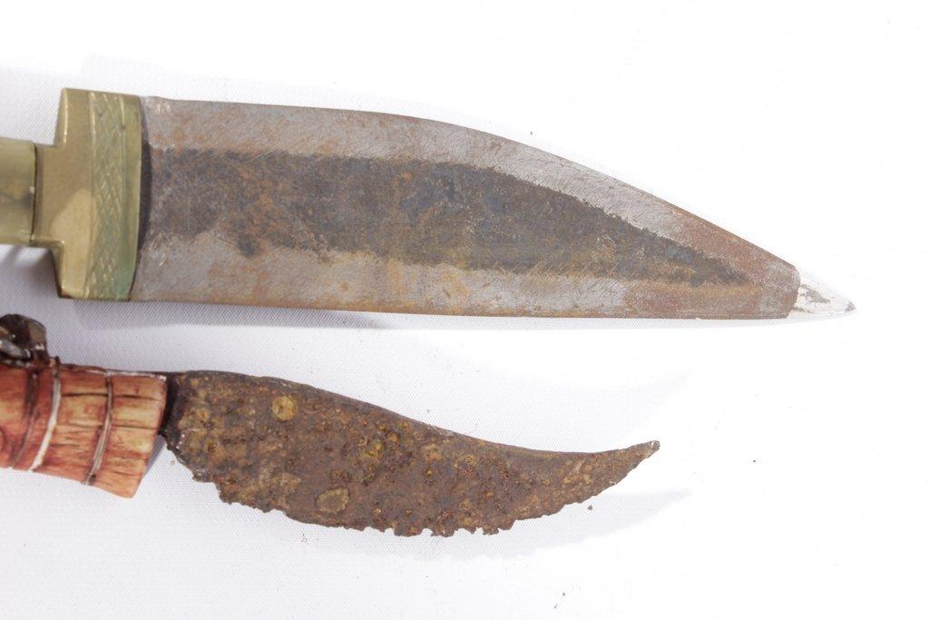 Pair Antique Daggers - 6