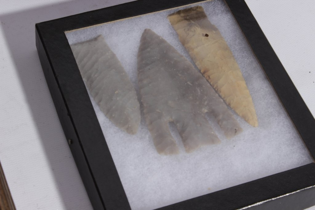 Miscellaneous Lot of 4 Framed Arrowheads - 3