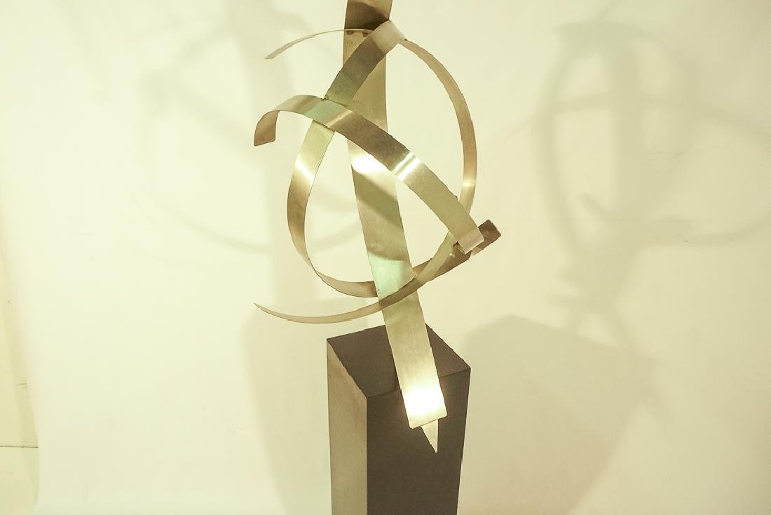 Modern Steel Sculpture - 4