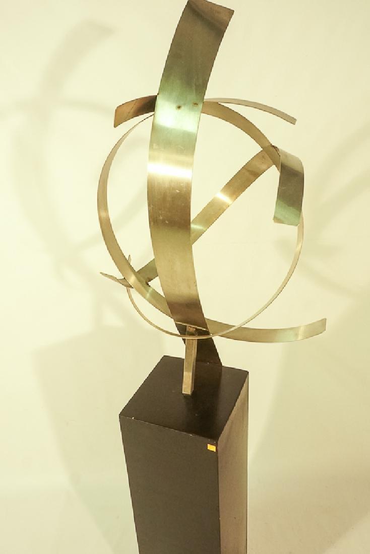 Modern Steel Sculpture - 8