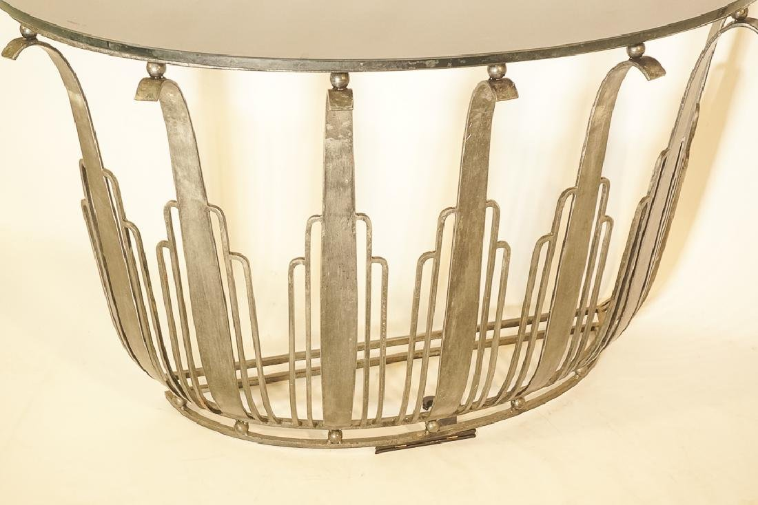 Art Deco Style Iron Console - 3