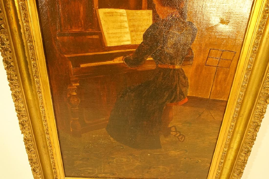 "20th C School, ""Woman at the Piano"" - 5"
