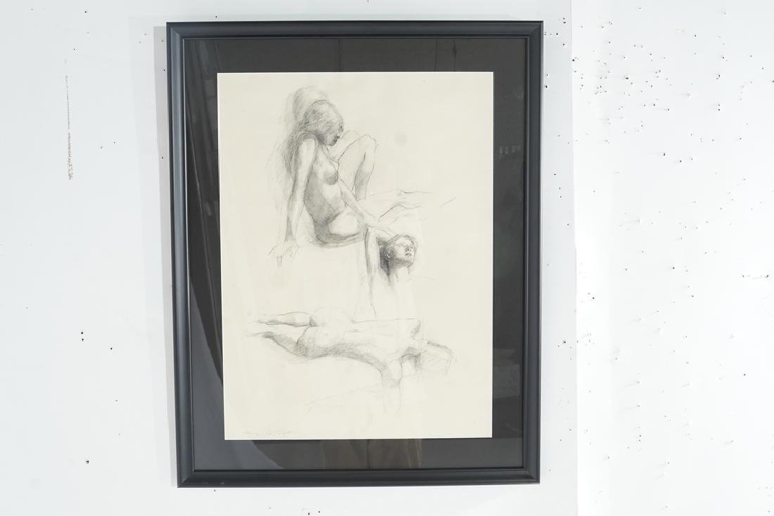 Chatov, Marc (Amer 1953-) Pencil Study