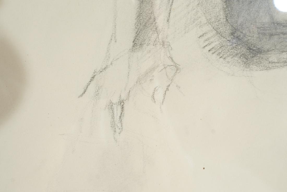 Chatov, Marc (Amer 1953-) Pencil Study - 2