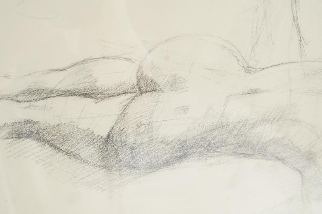 Chatov, Marc (Amer 1953-) Pencil Study - 3