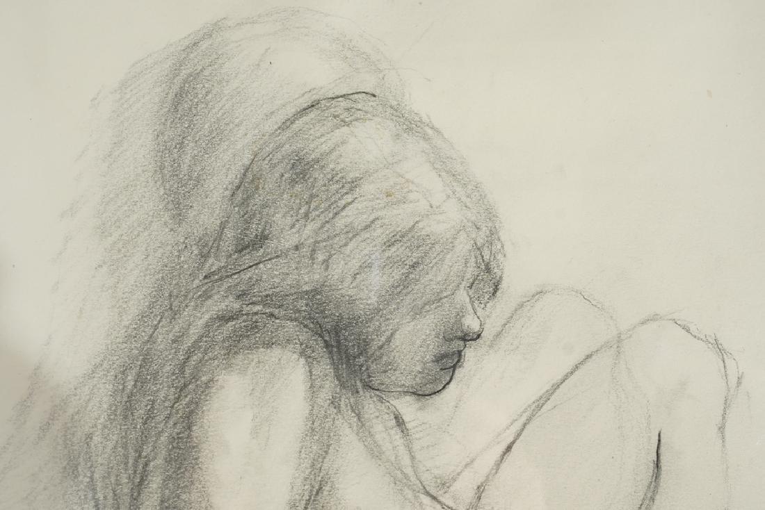 Chatov, Marc (Amer 1953-) Pencil Study - 8