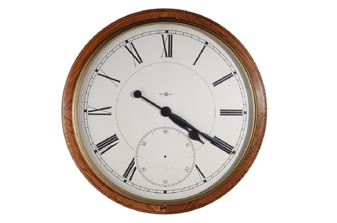 Monumental HOWARD MILLER Wall Clock