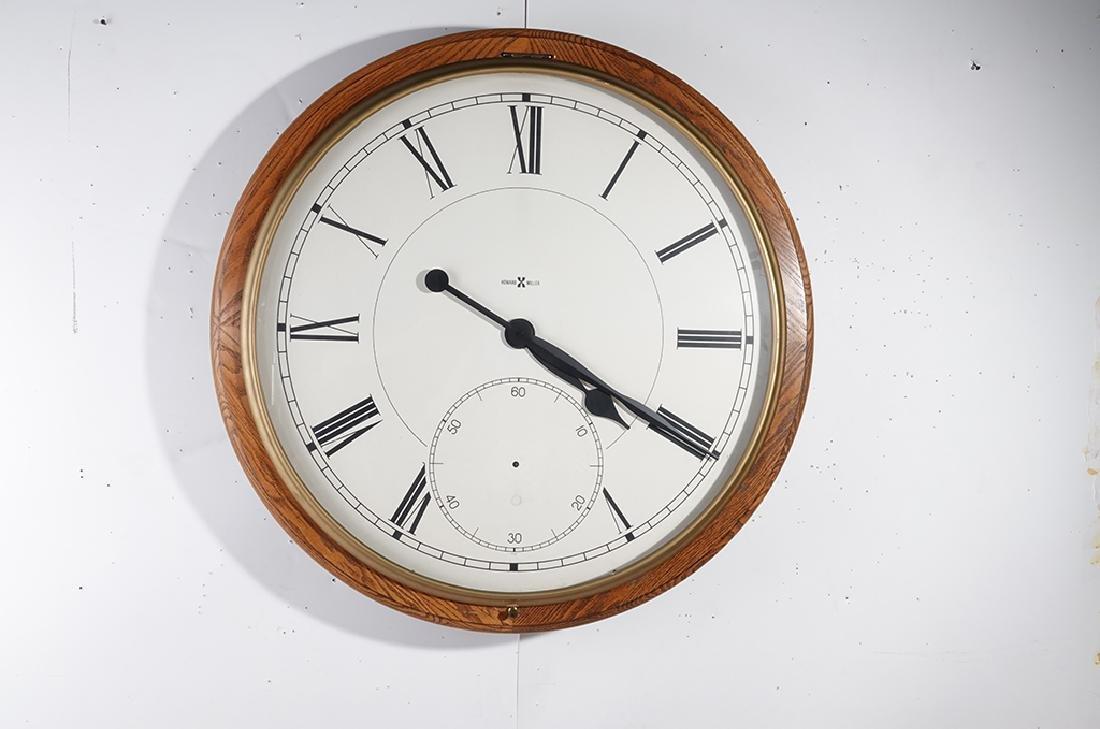 Monumental HOWARD MILLER Wall Clock - 2