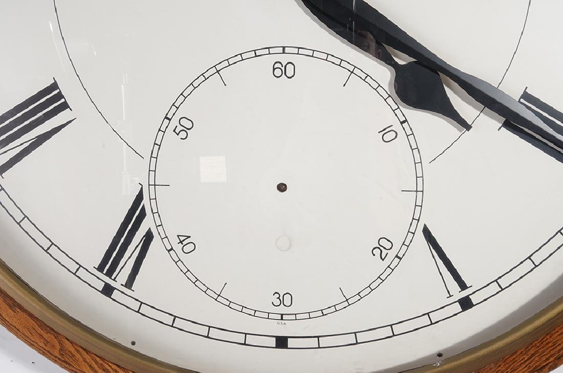 Monumental HOWARD MILLER Wall Clock - 3