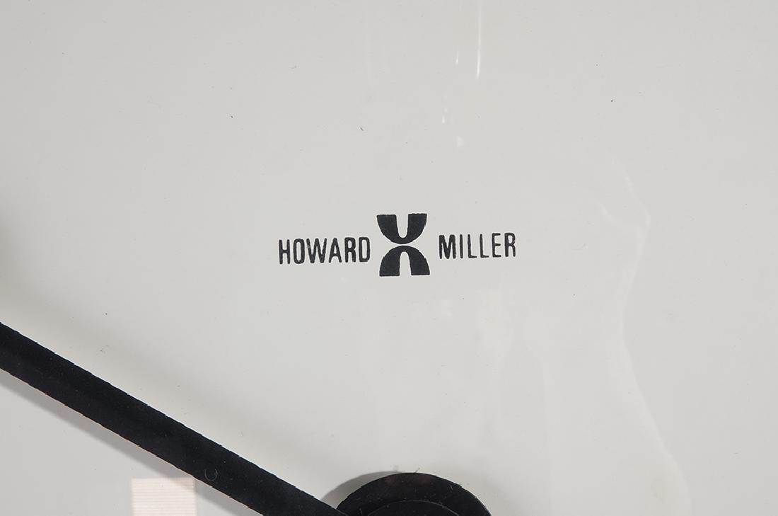 Monumental HOWARD MILLER Wall Clock - 9