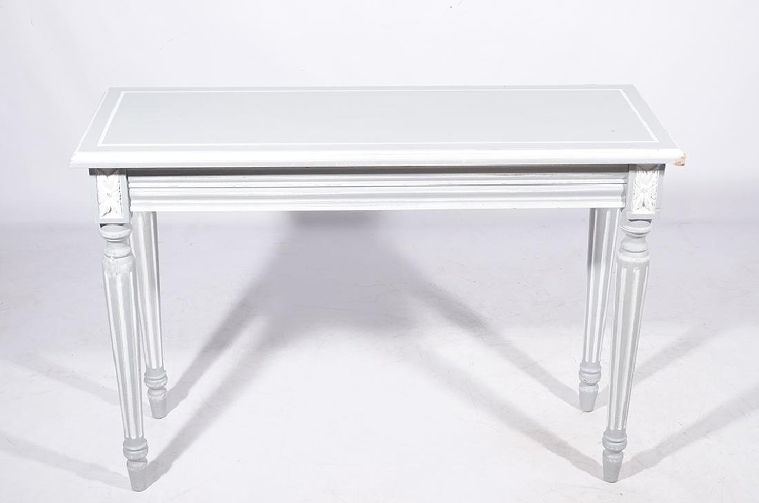Louis XVI Style Painted Console - 2
